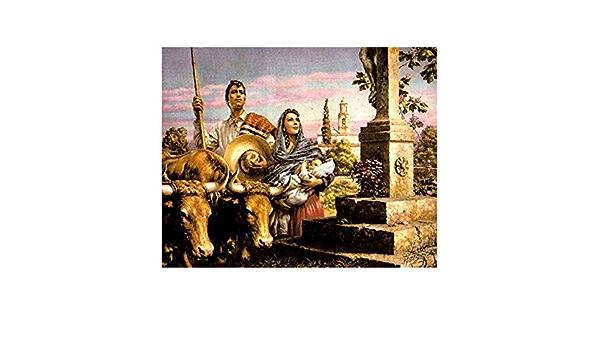 buy home decor Mexican painter Jesus Helguera La Familia art poster