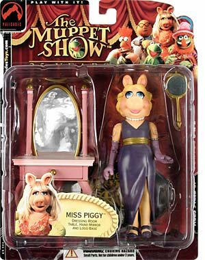 Muppet Show Series 1 Miss Piggy (Distressed Packaging) Action Figure