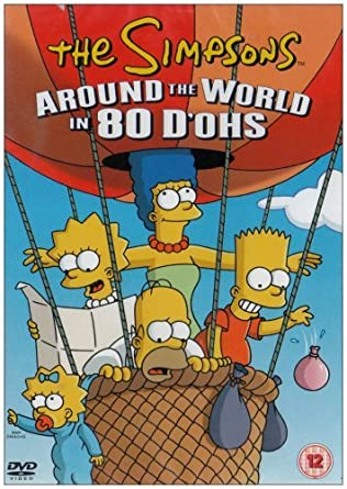 Amazon Com The Simpsons Around The World In 80 D Ohs Dvd The Simpsons Movies Tv