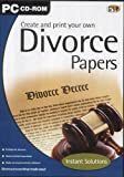 Create & Print Your Own Divorce Papers