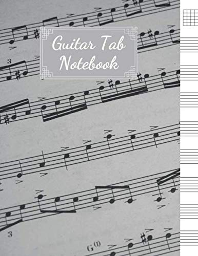 - Guitar Tab Notebook: Blank Sheet Music For Guitar, Music Manuscript Paper, 6 String Chord, Staff and Title Music Paper For Guitar Players, Musicians, Teachers and Students (100 Pages 8.5 x 11 )