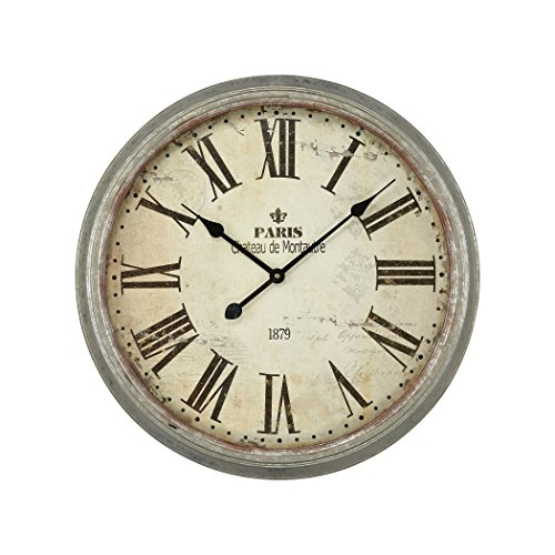 Hamptons Collection Château de Montautre Wall Clock by Ben&Jonah