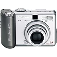 Canon PowerShot A70 3.2MP Digital Camera w/ 3x Optical Zoom Key Pieces Review Image