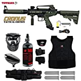 MAddog Tippmann Cronus Tactical Starter Protective HPA Paintball Gun Package – Black/Olive Review