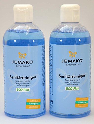 Jemako Sanitärreiniger 1 Liter (2 Flaschen á 500ml)
