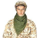 YAOBAO Filet De Camouflage, Filet Tactique en Maille Écharpe Camo Écharpe Sniper Voile Écharpe, Filet pour Les Grands… 9