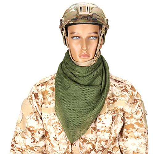 YAOBAO Filet De Camouflage, Filet Tactique en Maille Écharpe Camo Écharpe Sniper Voile Écharpe, Filet pour Les Grands… 2