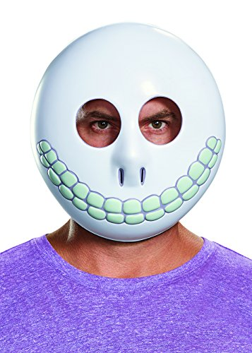 Disguise Men's Barrel Adult Mask, White, One Size