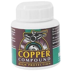 Motorex Copper Anti Seize Paste Jar W/Brush 100g. 714 011