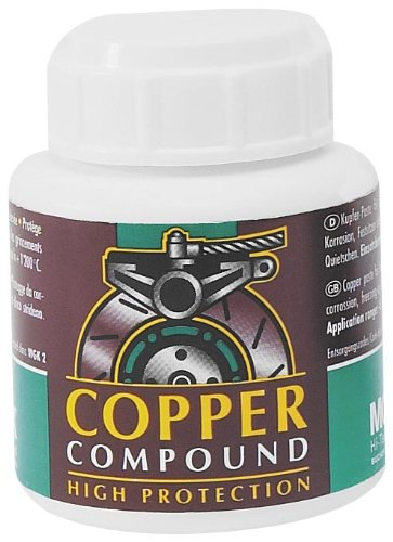 Motorex Copper Anti-Seize Paste - Jar W/Brush 100g. 714-011