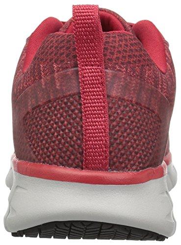 Chaussure De Travail Synergy-arrey Skechers Femme Rouge / Gris