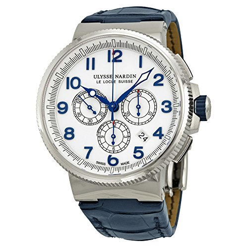 Ulysse-Nardin-Marine-Chronograph-White-Dial-Automatic-Mens-Watch-1503-150-60