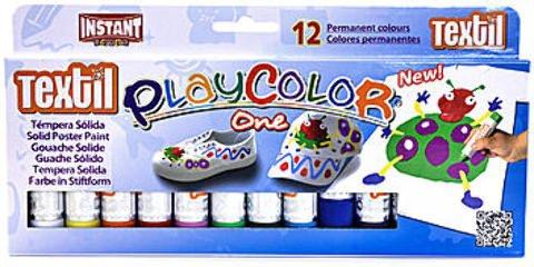 Jack Richeson Playcolor Textil Paint Sticks - Set of 12 1 pcs sku# 1873953MA by Jack Richeson