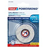 Tesa 55732-00002-02 Powerbond Biadhesive Strong Ribbon for Mirrors, 1.5 m 19 mm by tesa UK
