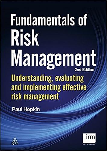 risk management hopkin paul