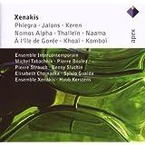 Xenakis: Phlegra; Jalons; Keren; Nomos Alpha; Thallein; Naama, etc.