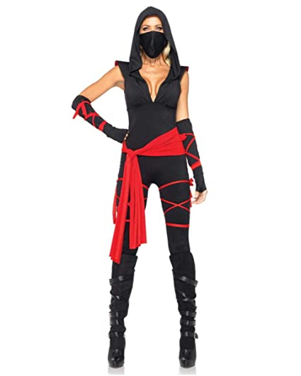 Horror-Shop Deadly Ninja Damenkostüm Deluxe L: Amazon.es ...