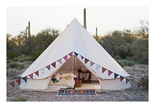 Stout Bell Tent 100% Cotton Canvas 4M 5M