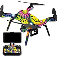 Skin For 3DR Solo Drone – Peace Smile | MightySkins Protective, Durable, and Unique Vinyl Decal wrap cover | Easy To Apply, Remove, and Change Styles | Made in the USA