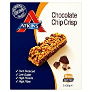 Atkins Chocolate Chip Crisp 5x30g Bars