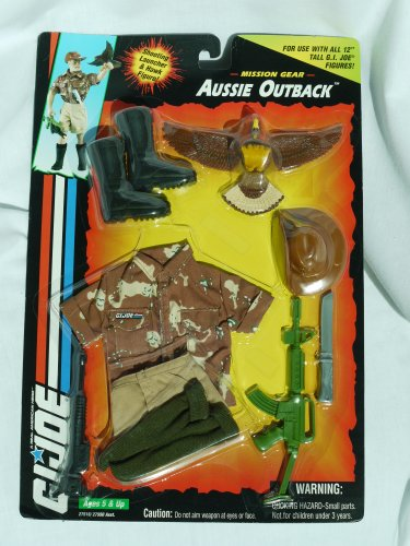 Gear Joe Gi Mission (G.I. Joe Aussie Outback Mission Gear (1994))