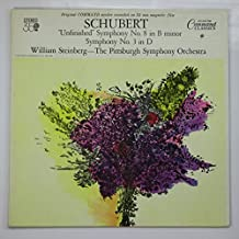 Schubert: Symphony No. 8 in B Minor- Unfinished / Symphony No. 3 in D