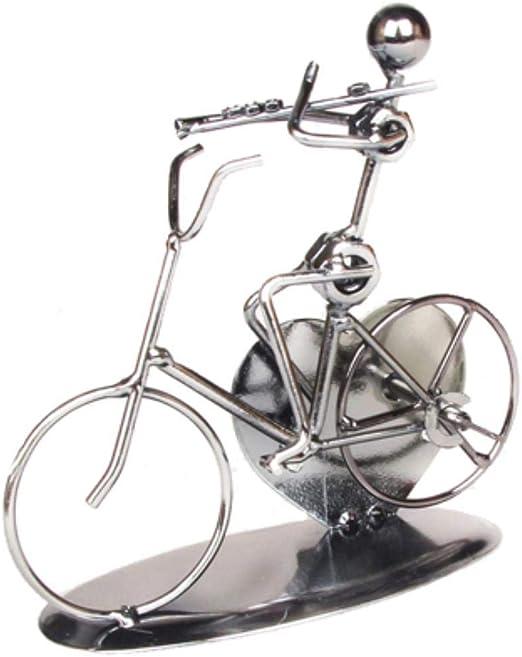 THREE Metal Hierro Modelo de Bicicleta Estatua Retro Vintage ...
