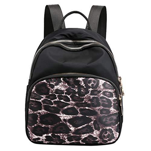 - CCFAMILY Women's Fashion Nylon Waterproof Shoulder Messenger Crossbody Bags BackPacks