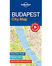 Lonely Planet Budapest City Map 1st Ed.: 1st Edition