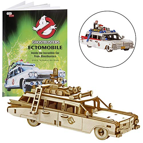 IncrediBuilds Ghostbusters: Ectomobile Book and 3D Wood Model Figure Kit - Build, Paint and Collect Your Own Wooden Model - Great for Kids and Adults,12+ - 6
