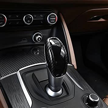 Fits Alfa Romeo Giulia Stelvio 17 ABS Carbon Car-styling  Interior Door Trim