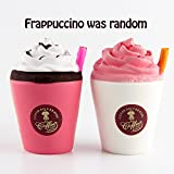 WATINC Kawaii Jumbo 3pcs Hamburger&Popcorn Set Squishy Slow Rising Sweet Scented Vent Charms Kid Toy Hand Toy, Stress Relief Toy , decorative props Doll Gift Fun Large (pink ham&pop corn)