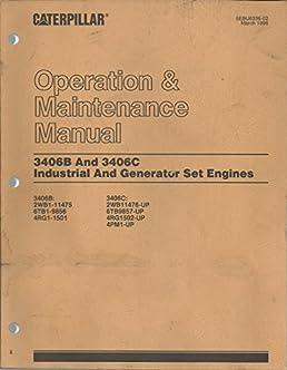 caterpillar operation maintenance manual 3406b and 3406c rh amazon com