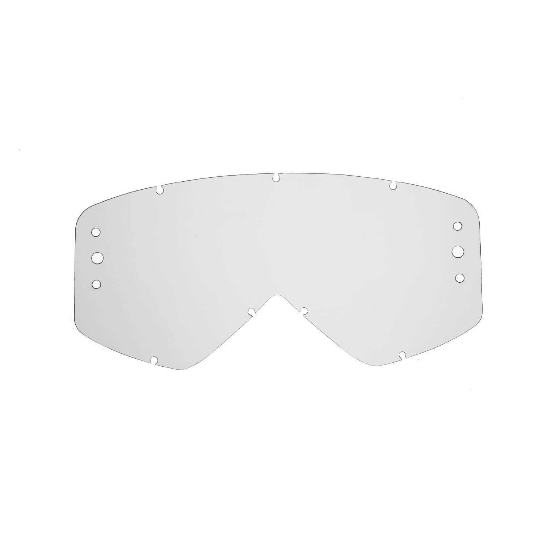 SeeCle 417189 roll-off-linsen mit verspiegelten Linsen in rauchfarben kompatibel mit Smith Fuel Maske