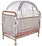 Best Baby Crib Safety Net Tent - Tried and Tested - Safe and Secure - Proven to Keep Your Baby Safe from Climbing Out. Finest Quality Original Australian Design Pop Up Crib Canopy Cover Easy Assembly