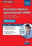 Concours Assistant médico-administratif (AMA) 2018-2019 - Tout-en-un - Catégorie B - Branches Secrétariat médical et Assistance de régulation médicale