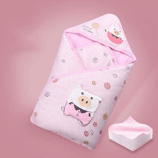 nohbi Cómodo Saco de Dormir para bebé,Saco de Dormir Acolchado de algodón, edredón cálido y cómodo, Rosa A,Saco de Dormir para Bebé Suave y Ligero: Amazon.es: Hogar
