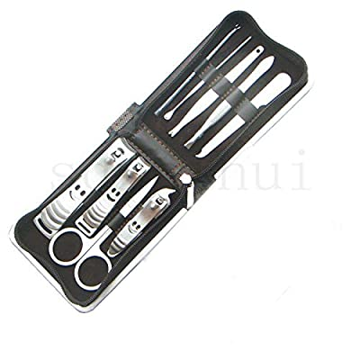 9 Pcs Set Nail Clippers Nipper Cutter Manicure Pedicure Stainless Steel NEW GIFT