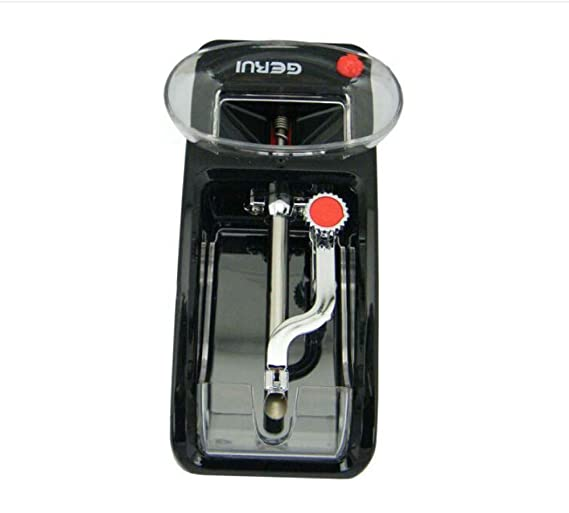 TianranRT Normativa estadounidense Cigarrillo eléctrico Eléctrico Automático Máquina para hacer cigarrillos Rodillo Fabricante de tabaco Rodillo (Rojo): ...