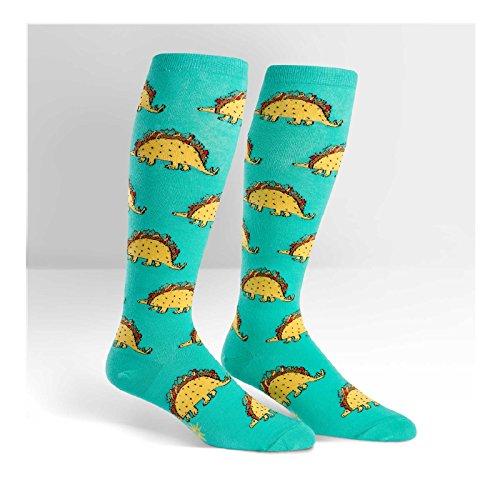 Wide Calf STRETCH Tacosaurus Socks product image
