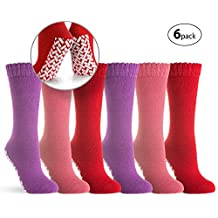 Non-Skid No Slip Hospital Tube Socks for Adults - Assorted Colors and Sizes