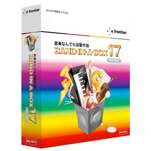 Band-in-a-Box 17 Mac MegaPAK B0031AV9XS
