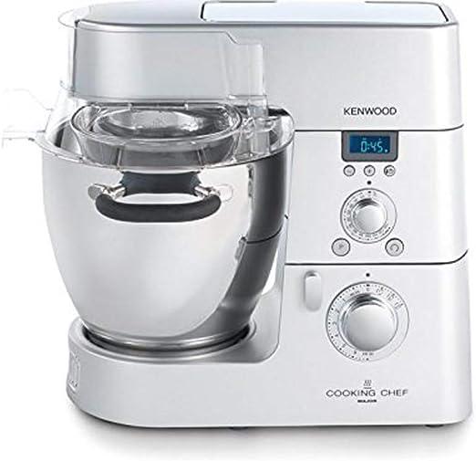 Kenwood Electronics KM082 1500W 6.7L Aluminio, Acero inoxidable - Robot de cocina (6,7 L, Aluminio, Acero inoxidable, Acero inoxidable, Aluminio, 1500 W, 410 mm): Amazon.es: Hogar