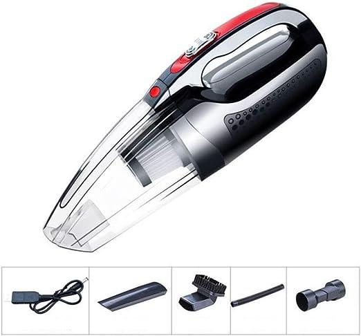 CYX-vacuum cleaner Aspirador de Mano 120W 4000 mbar Aspirador Potente Aspirador de succión para automóviles, Cocina, Limpieza de Cabello de Mascotas,Black,Wireless: Amazon.es: Hogar