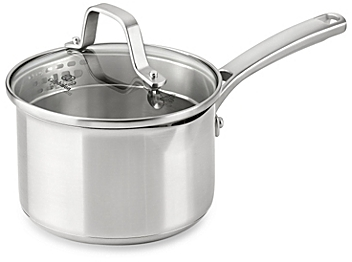 Calphalon® Classic Stainless Steel 1.5 qt. Covered Sauce Pan - BedBathandBeyon​d.com