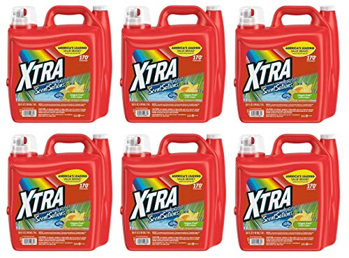 Xtra ScentSations Calypso Fresh Liquid Laundry Detergent 255 Fl Oz (Pack of 6) ()