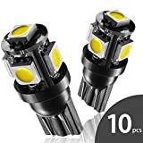 2003 mazda protege owners manual - Marsauto T10 168 194 2825 LED Bulbs Super Bright 5SMD Exterior License Plate Lights Lamp, Car Interior Courtesy Dome Lights Map White 10-Pack