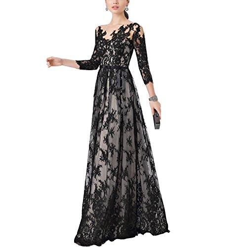 long black puffy prom dresses - 8