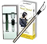 The Original Wine Wand - Wine Pourer, Aerator & Iceless Chiller by Chef Caron 3 in 1 Accessory - Perfect Gift for Any Wine Lover