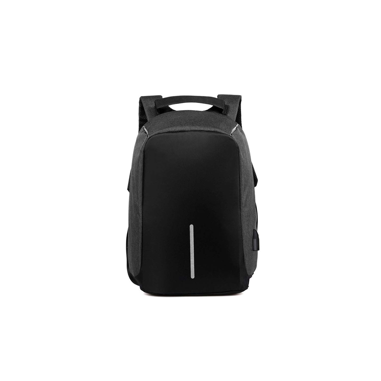防水 USB充電 盗難防止バッグ 多機能 ユニセックス ビジネス コンピューター バックパック ティーンエイジャー用 Onesize ブラック Onesize ブラック B07R32TKJN